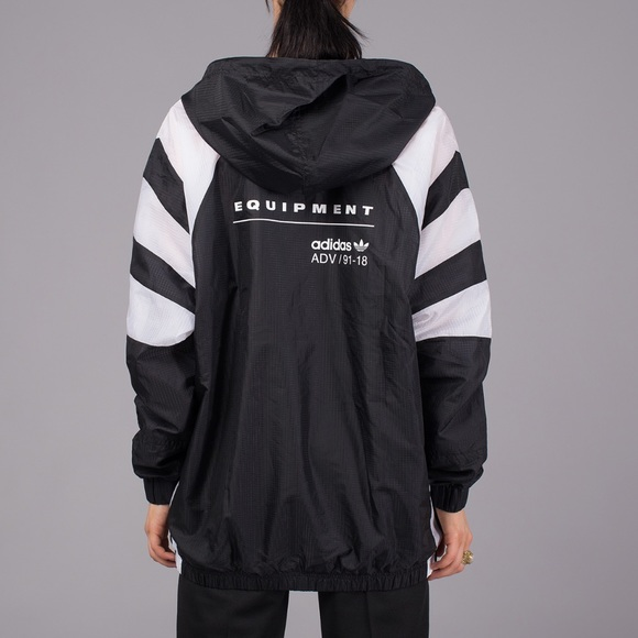 1e394d19a43 NWT // Adidas EQT Windbreaker Jacket NWT